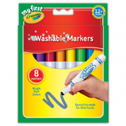 Crayola 8 Pack Washable Markers